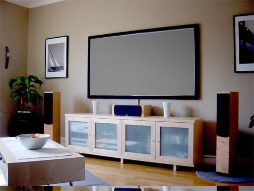 draper frame vision react 3 0 rahmenleinwand kontrastverst rkt. Black Bedroom Furniture Sets. Home Design Ideas