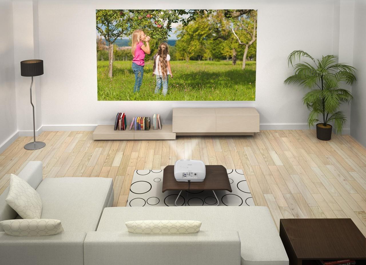 Epson eh tw6800 3d full hd heimkino beamer online kaufen beamer4u - Beamer wohnzimmer ...