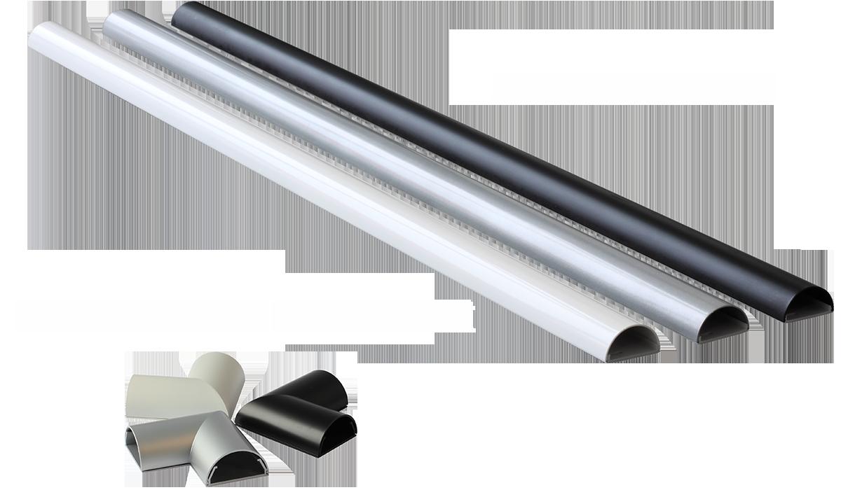 Design Aluminium Kabelkanal online kaufen bei beamer4u