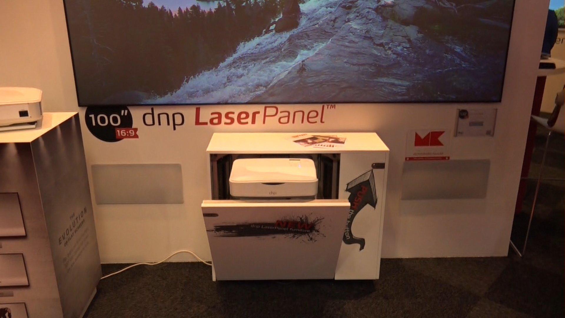 Dnp Laser Pannel Als Tv Ersatz Hier Mehr Erfahren Beamer4u