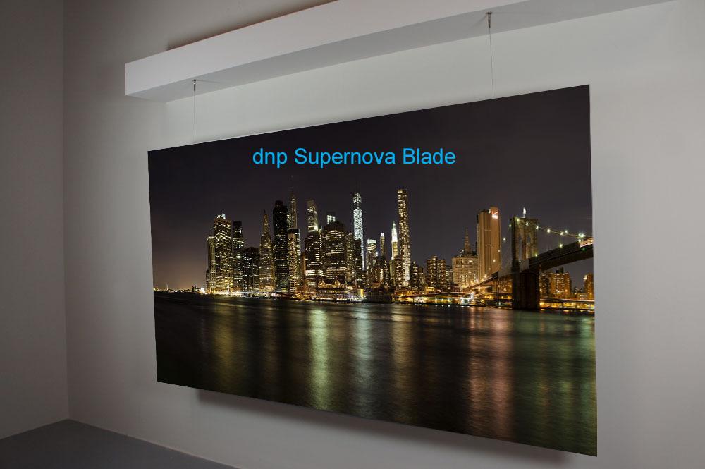 dnp supernova blade high end leinwand von dnp beamer4u. Black Bedroom Furniture Sets. Home Design Ideas