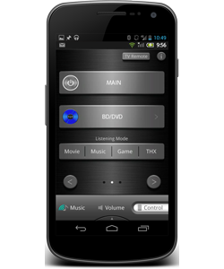 Android-Integra-Remote-App
